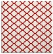 rug #880075 | square red traditional rug
