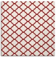 rug #880083 | square red traditional rug