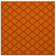 rug #880099 | square red-orange geometry rug
