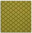 rug #880155 | square light-green traditional rug