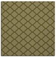 rug #880167 | square light-green traditional rug