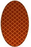 rug #880190 | oval geometry rug