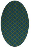 rug #880268 | oval traditional rug