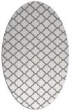 rug #880367 | oval geometry rug