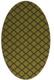rug #880415   oval purple traditional rug