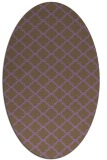 rug #880421 | oval traditional rug