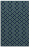 rug #880579 |  blue-green traditional rug