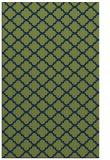 rug #880583 |  green traditional rug