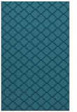 rug #880611 |  blue-green traditional rug