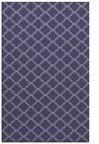 rug #880631 |  blue-violet traditional rug