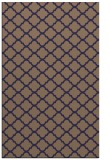 rug #880647 |  blue-violet traditional rug