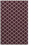 rug #880691 |  pink traditional rug
