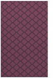 rug #880763 |  purple traditional rug