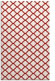 rug #880779 |  red traditional rug