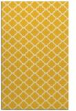 rug #880835 |  yellow traditional rug