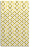 rug #880847 |  yellow popular rug