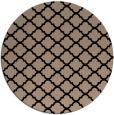rug #880903   round black popular rug