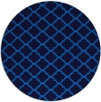 rug #880923 | round blue traditional rug