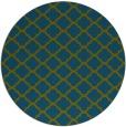 rug #880972 | round traditional rug