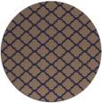 rug #880999 | round beige geometry rug