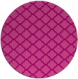 rug #881099 | round pink traditional rug