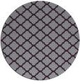 rug #881127   round purple traditional rug