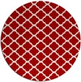 rug #881132 | round traditional rug