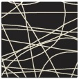 rug #881619 | square black abstract rug