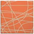 rug #881795 | square orange abstract rug