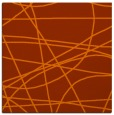 rug #881851 | square red-orange popular rug