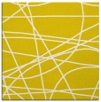 rug #881903 | square yellow abstract rug