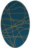 rug #881977   oval stripes rug