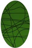 rug #882009 | oval stripes rug