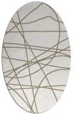 rug #882239 | oval beige popular rug