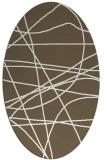 rug #882249   oval abstract rug