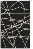 rug #882323 |  black abstract rug