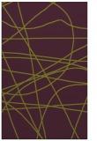 rug #882527 |  purple stripes rug