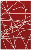 rug #882547    red abstract rug