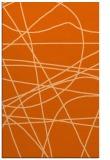 rug #882559    red-orange stripes rug
