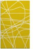 rug #882607 |  yellow stripes rug