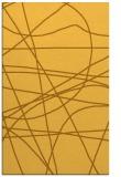 rug #882611 |  light-orange abstract rug