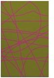 rug #882627 |  light-green abstract rug