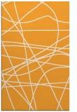 rug #882647 |  light-orange abstract rug