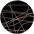 rug #882663 | round black abstract rug