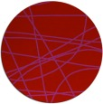 rug #882903 | round red stripes rug