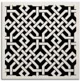 rug #885119   square white geometry rug