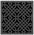 rug #885123 | square black rug