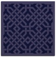 rug #885203 | square blue-violet borders rug