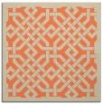 rug #885315   square orange rug