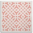 rug #885335 | square white geometry rug